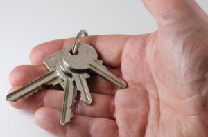 Holding a Set of Keys